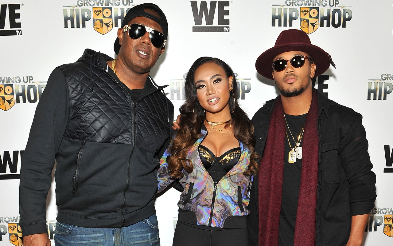 growing up hip hop master p romeo miller  Getty Images for WE tv