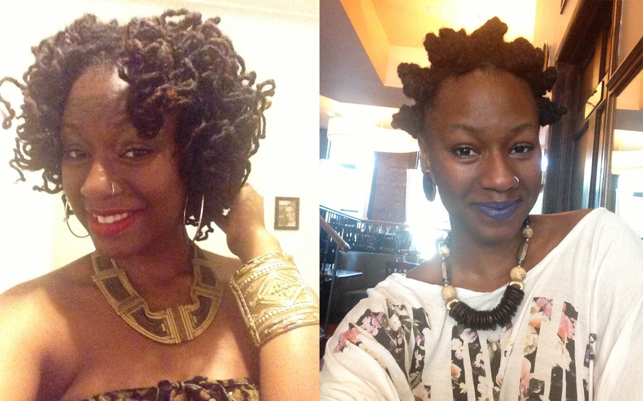 Natural Hair Must Try Bantu Knot Out For Locks And Natural Hair Ebony