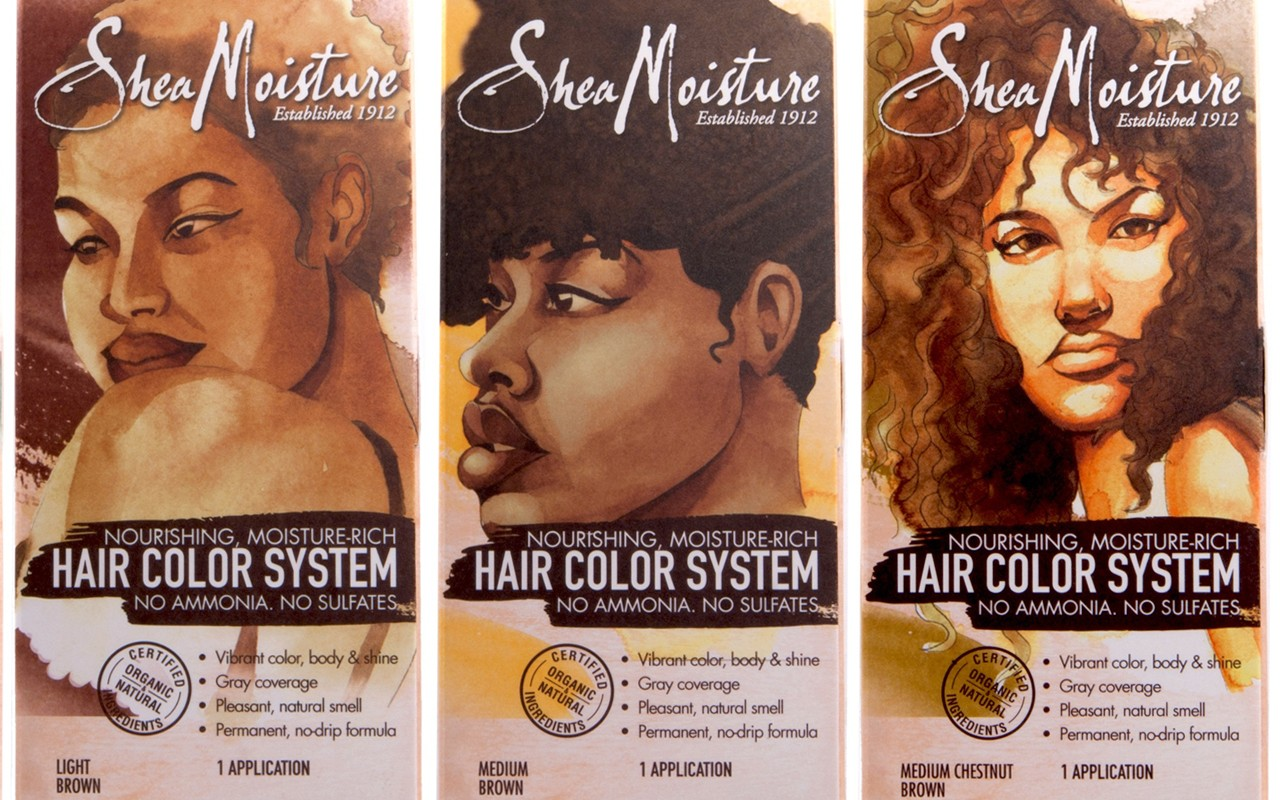 Color Me Natural: SheaMoisture New Hair Color System • EBONY