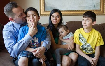 Insured, finally: Families put Obamacare to the real test