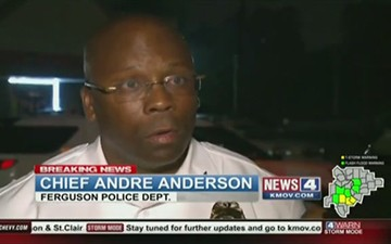 """One Wounded in """"Officer-Related Shooting"""" During Ferguson Protests"""