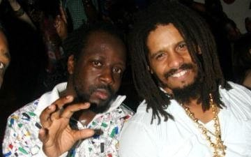 Wyclef Jean and Rohan Marley
