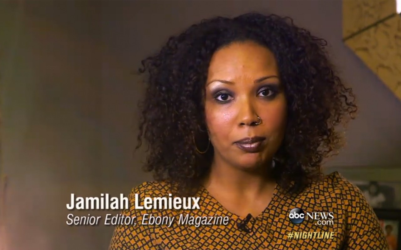 EBONY.com's Jamilah Lemieux Talks #AliveWhileBlack on ABC's Nightline