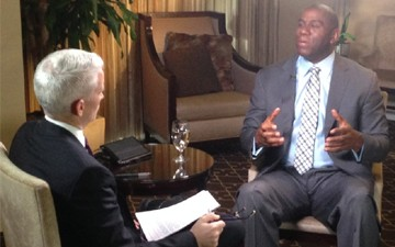 Magic Johnson in CNN exclusive: I'm going to pray for Donald Sterling
