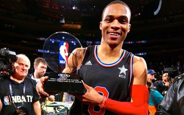 Russell Westbrook is All-Star MVP
