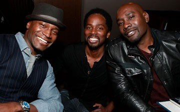 Taye Diggs, Harold Perrineau, and Morris Chestnut