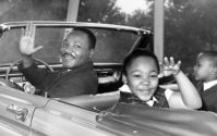 Dr. Martin Luther King Jr with children