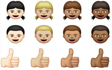 See Apple's new racially diverse emoji