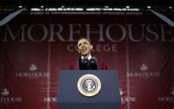 Obama's Morehouse Commencement Speech Causes Controversy
