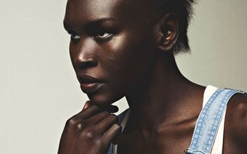 Alek Wek: 'You don't have to go with the crowd'