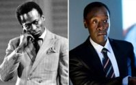 Miles Davis and Don Cheadle
