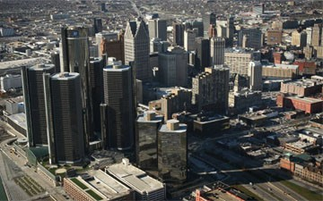 Whites are moving back into Detroit as blacks leave