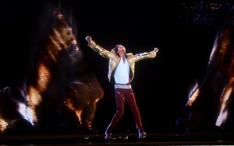 Michael Jackson Hologram Billboard Music Awards