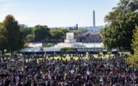Justice or Else million man march 20th anniversary