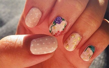 [NAILS OF THE WEEK] Mix Prints Like a Pro With This Mani