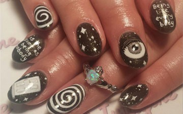 Nails of the week pre halloween nail art inspired by the nails of the week pre halloween nail art inspired by the twilight prinsesfo Gallery
