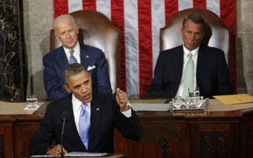 Obama will give State of Union address against backdrop of deep partisan divide
