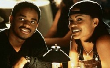 Larenz Tate and Nia Long
