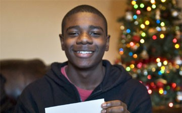 """Obama Responds to Black Teen's Christmas Wish: """"I Just Wanna Be Safe"""""""
