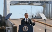 Remarks of President Barack Obama Selma, Alabama edmund pettus bridge