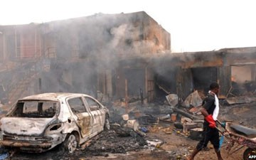 Nigeria violence: 'Boko Haram kill 17' in village attack