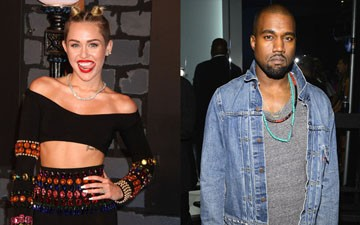 """Miley Cyrus and Kanye West are reportedly making a remix of West's controversial single, """"Black Skinhead."""""""