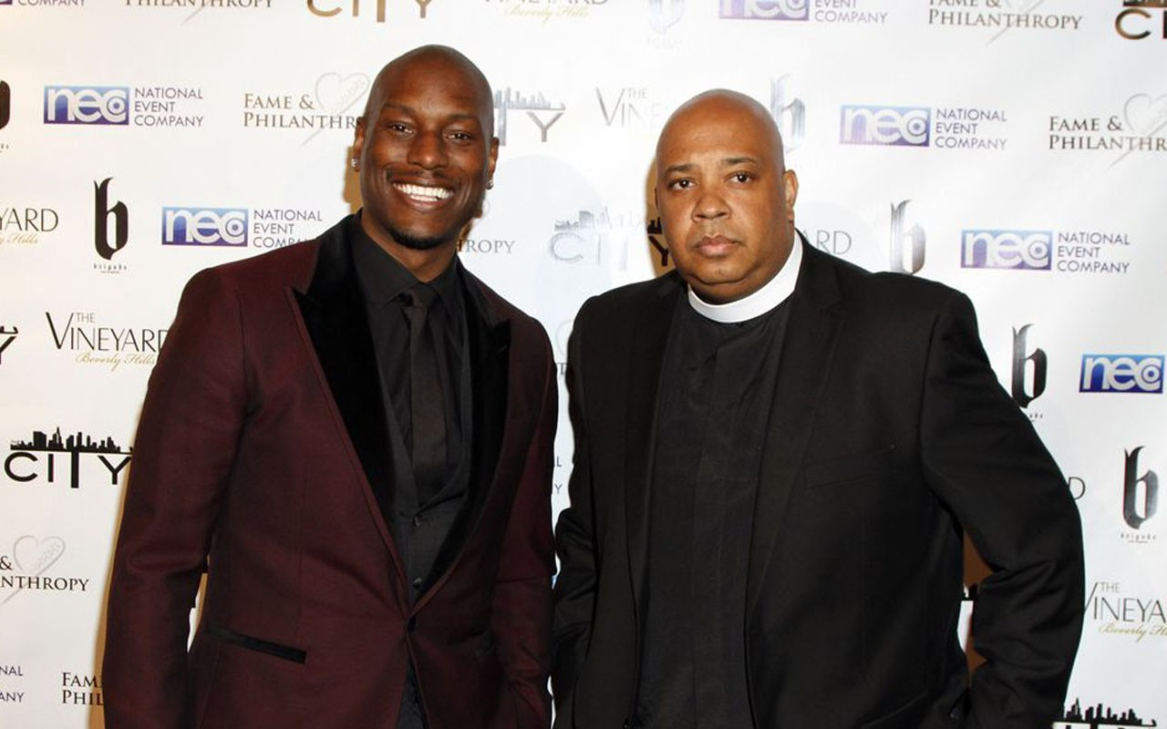 Tyrese Gibson Rev Run Manology
