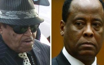 Joe Jackson and Dr. Conrad Murray
