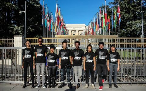Chicago Activists 'Charge Genocide' at United Nations