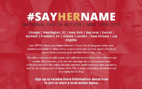 #SayHerName Campaign Sheds Light on Abuse of Black Women