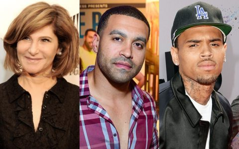 amy pascal, apollo, chris brown shade brigade