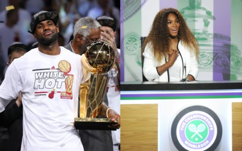 [SPORTS NOTES] Lebron Parties, Serena Says Sorry