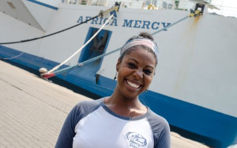 [THE SPIRITUAL LIFE] Tori Hobson Finds Healing on Mercy Ships [PHOTOS]