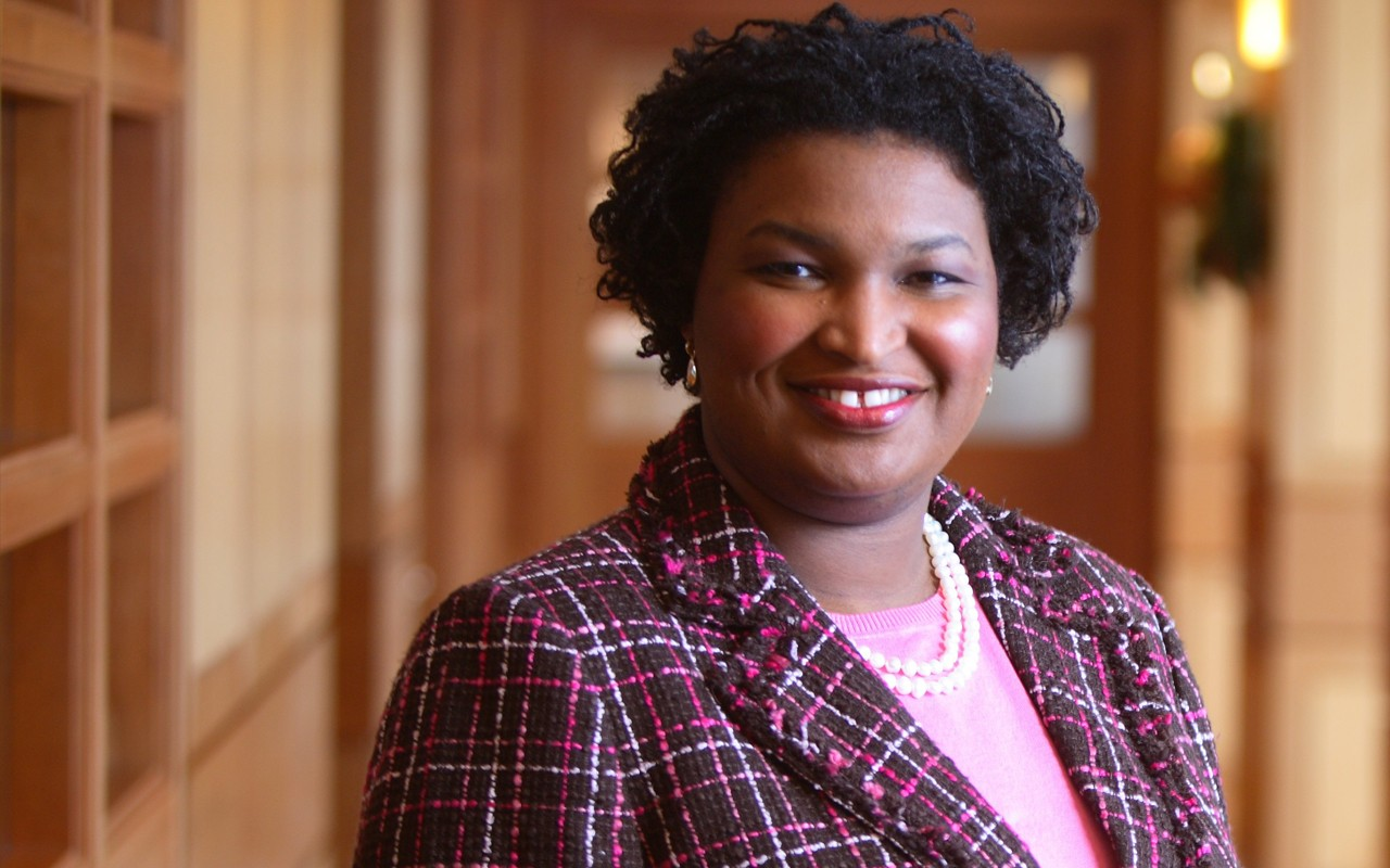 Stacey Abrams won the Democratic nomination for governor of Georgia on Tuesday delivering a victory for the national liberal groups and elected officials