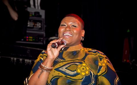 Songwriter Stacy Barthe Rocks the Mic