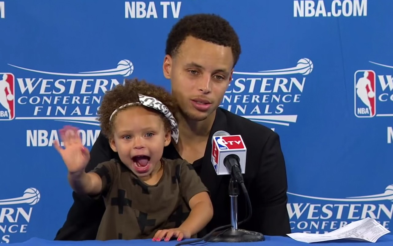 4 Best NBA Kids Postgame Interviews Stephen Curry's daughter, Riley Curry