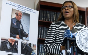 NYPD Officer Camera Plan Proposed