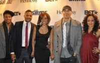 """Tia Mowry & Pooch Hall Out of """"The Game"""""""