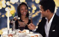 african american on date