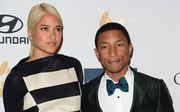 Pharrell gets married in Miami