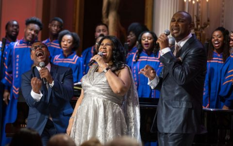 Aretha Franklin Goes Gospel at the White House