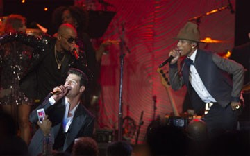 Robin Thicke, Pharrell Williams lose first round in 'Blurred Lines' case