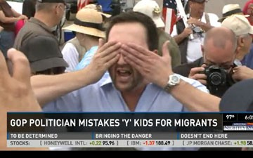 Republican Mistakes Busload of YMCA Campers for Migrant Children
