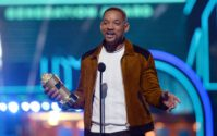 Will Smith accepts the generation award at the MTV Movie Awards