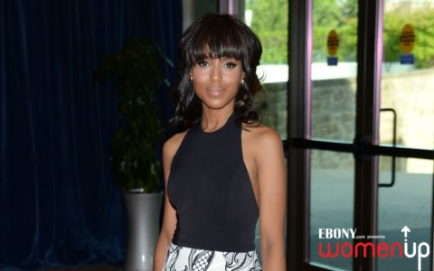 Kerry Washington Laughs with Her 'Peeples'