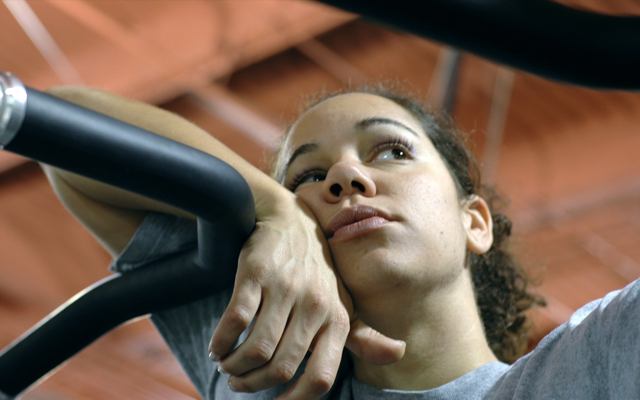 african american woman workout fatigue