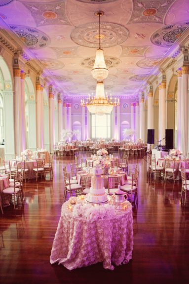 Look how lovely this reception is!