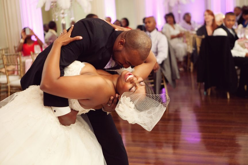 This is how every bride should have their first dance with their new husband.