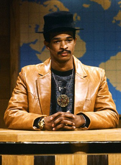 "Damon Wayans continued the trend of one-season Black cast members. He was fired from <em>SNL</em> for improvising during a live sketch, <a href=""http://screen.yahoo.com/mr-monopoly-000000931.html"">""Mr. Monopoly""</a>. Wayans landed<em> In Living Color</em> years later."