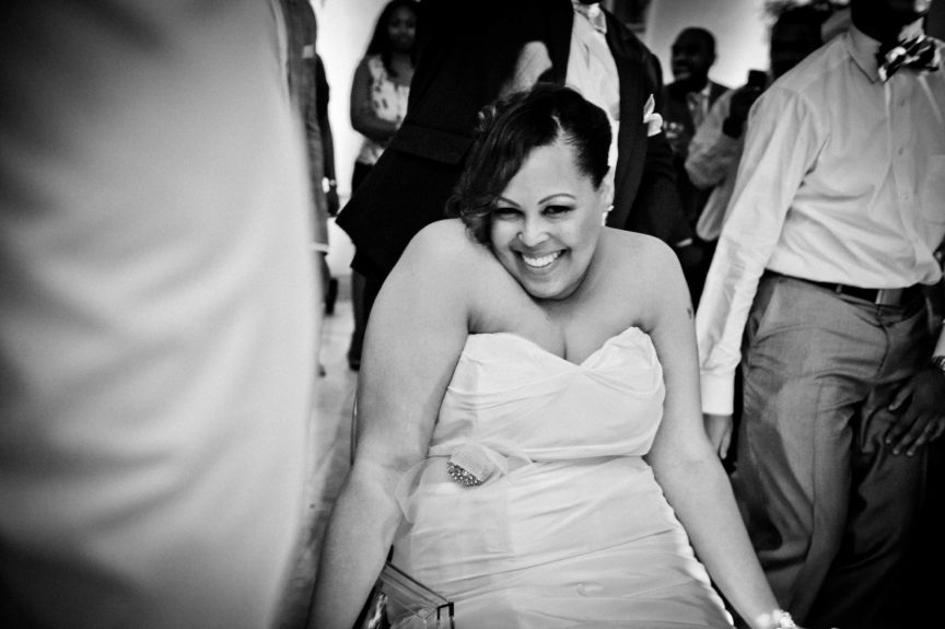Now this is a shot! The bride <em>Ivori Lipscomb-Warren</em> filled with bliss and beauty, after 11 years